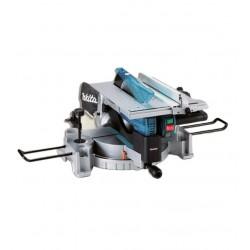 Sega da banco con pianetto e tracciatore laser