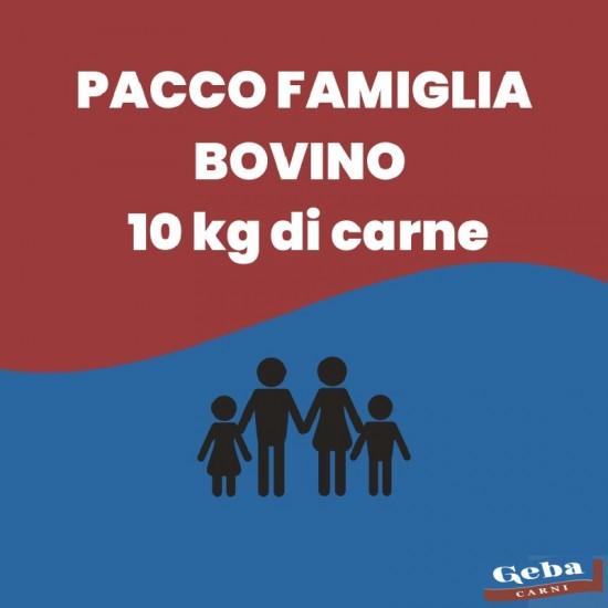 PACCO FAMIGLIA BOVINO - 10 Kg