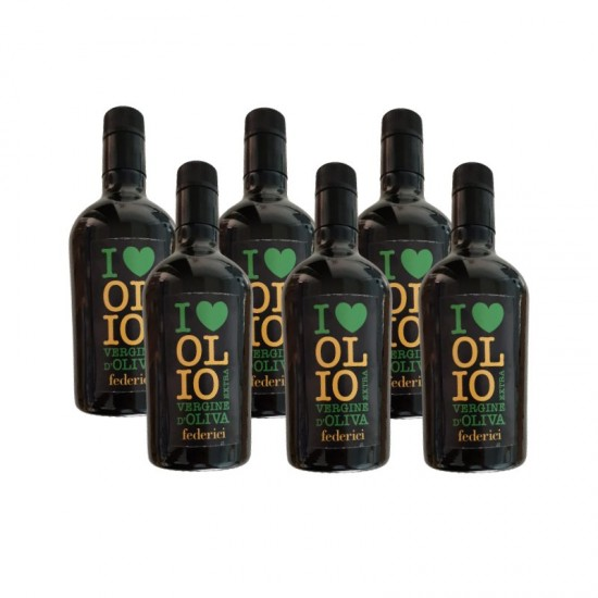 OLIO BIO EXTRA VERGINE  CONFEZIONE 0,500LT X 6 BOTTIGLIE